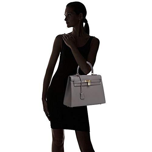 Bag Hardware Kueh Blue Top Grey Gold handbags for Padlock With Designer Womens qw6SfqY
