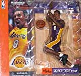 lakers figure - Kobe Bryant McFarlane Series 1 Yellow Uniform Los Angeles Lakers Action Figure by McFarlane Toys by Unknown