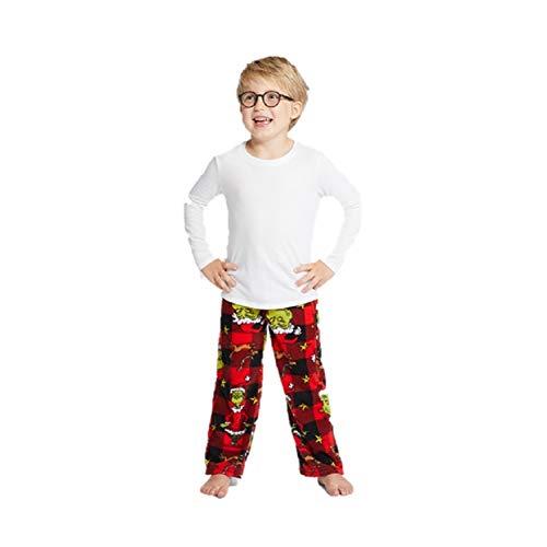(Dr Suess Boys Girls' Grinch who Stole Christmas Sleep Pants (12M) Green)