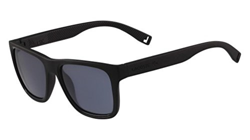 (Lacoste Men's L816s Rectangular Sunglasses, MATTE BLACK, 54 mm )
