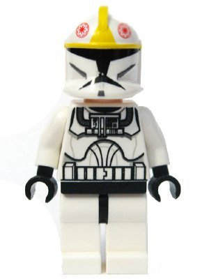 "Clone Pilot (Clone Wars) - LEGO 2"" Star Wars Figure"