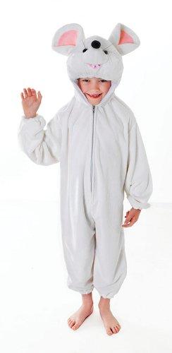 [Medium White Children's Mouse Costume] (Mouse Costumes Ideas)