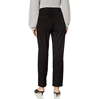 Chic Classic Collection Women's Easy-fit Elastic-Waist Pant at Women's Clothing store
