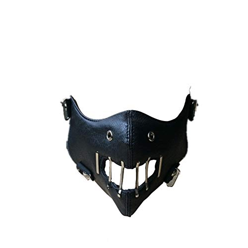 The Silence of The Lambs Hannibal Lecter Cosplay Mask Halloween Black Mask Movie Prop -