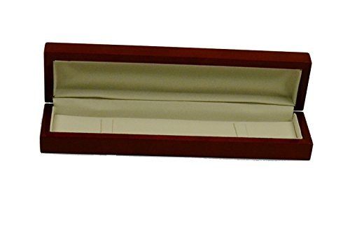 Regal pak ® one-piece jefferson collection premium rosewood bracelet box 8 7/8'' x 2 1/4'' x 1 3/8'' by Regal Pak (Image #2)