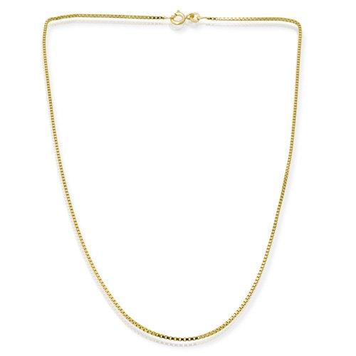585er Goldkette: Venezianerkette Gold 45cm BIN-1106