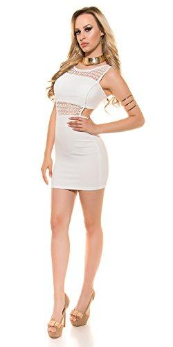 In-Stylefashion - Vestido - Estuche - para mujer Weiß