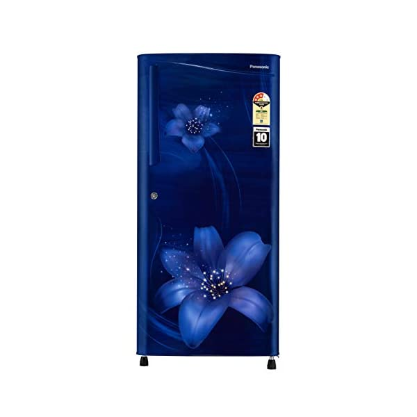 Panasonic 194 L 3 Star Inverter Direct-Cool Single Door Refrigerator (NR-A193VFAX1, Blue Floral) 2021 July Direct Cool Refrigerator: Economical and Requires Manual Defrosting Capacity 194 L– Suitable for families with 2 to 3 members Manufacturer Warranty: 1 Year on Product; 10 Years on Compressor