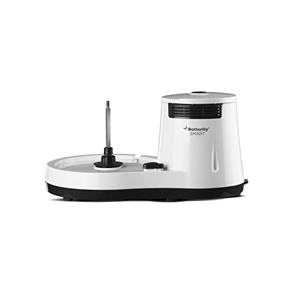 Butterfly Smart Wet Grinder, 2L (White) with Coconut Scrapper Attachment, 150 W 3