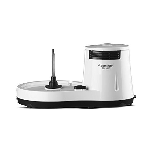 150 W with Coconut Scrapper Attachment 2L indofrance Latest 2021 Butterfly Smart Wet Grinder White