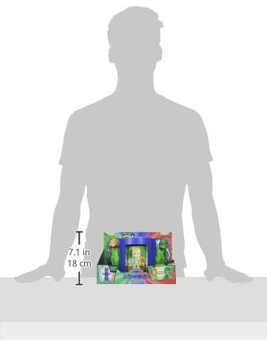 PJ Masks Transforming Figure Set-Gekko