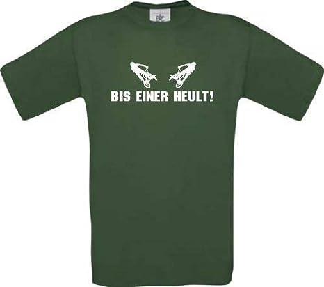 Shirtinstyle Camiseta bis Einer Heult Ciclismo BMX Downhill ...