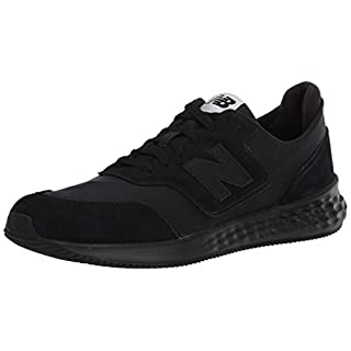 New Balance mens Fresh Foam X-70 V1 Sneaker, Black/Black, 5.5 US