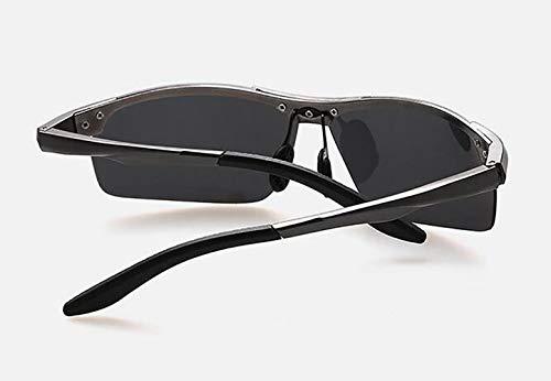 de Montar de YANXJING Aire y magnesio Hombres Aluminio Sol Libre al Gafas polarizadas de Marco Sol P4n7aR4Uq