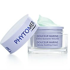 Velvety Soothing Skin Cream (Phytomer Douceur Marine Velvety Soothing Cream for Sensitive Skin - Prone to Blotchiness 1.6 Fl Oz)