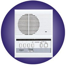 Aiphone 3-Call Intercom Master Station, Surface Mount Hands Free Sub Master