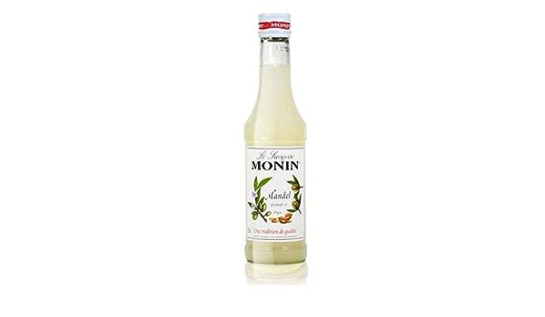 Jarabe de almendra Monin, botella de 250 ml: Amazon.es ...
