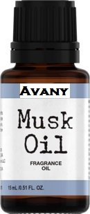(Avany 100% Pure Egyptian Musk Oil Uncut Roll on Perfume Alcohol Free Genuine)
