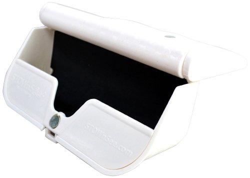 STOWnSee 28028-02124 Eyeglass Storage Case, White