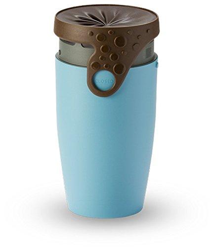 Neolid Travel Mug - Unique, Innovative, Stylish, Leak-Proof, Lidless Design - BPA Free (TWIZZ Vale)