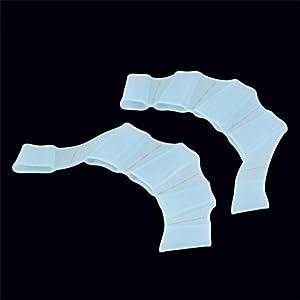 laonBonnie Pinne da Nuoto in Silicone Flippers Palm Finger Nuoto Guanti Paddel Migliorare Resistente Guanti da Nuoto… 1 spesavip