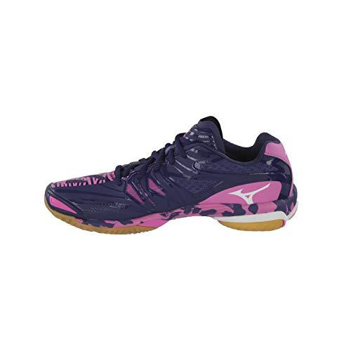 Violet Femme Chaussures Mirage Mizuno Wave RSIdU