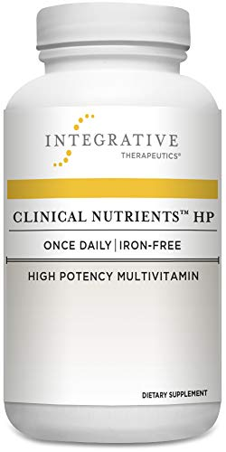 Integrative Therapeutics - Clinical NutrientsTM HP - Once-Daily, Iron Free, High Potency Multivitamin - Vitamin K2, Methylfolate, Micronutrients, Antioxidant Vitamins for Men and Women - 60 Capsules