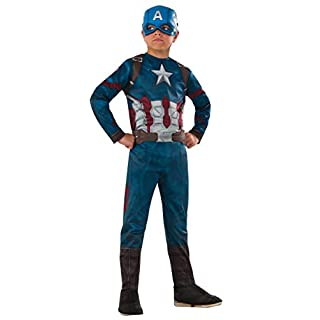Rubie's Costume Captain America: Civil War Value Captain America Costume, Small