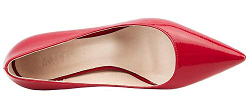 Sandales Red 55 5 Compensées Femme 36 Rouge Renly 9622 1 xtOqcwtd04