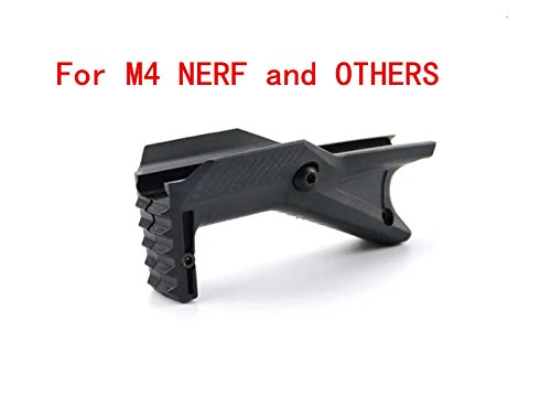 Polymer Grip fit Picatinny Rail Mount (Black#1)