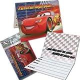 Disney Cars Party Invitations & Envelopes