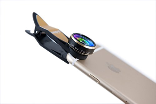 Universal Mobile Phone lens 3 in 1 Phone Lens (GOlden) - 3