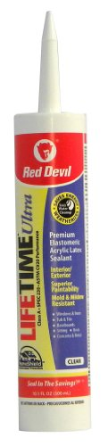 red-devil-0777-lifetime-ultra-premium-elastomeric-acrylic-latex-sealant-clear-101-ounce