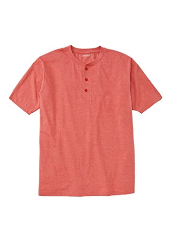 Kingsize Mens Shrink Less Henley Shirt