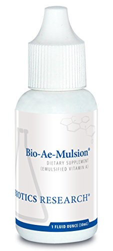 Biotics Research Bio-Ae-Mulsion - 2000 IU Emulsified Vitamin A for Greater Uptake & Utilization, Concentrated Form, Promotes Immune Response, Aids in Visual Acuity, Supports Cardiovascular Health 1 Fl