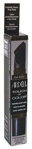 Price comparison product image Ardell Touch of Color Hair Dye, Dark Brown, 0.2 Fluid Ounce