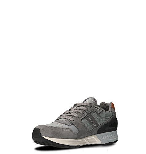 669838006 Camoscio Ralph Uomo Sneakers Grigio Lauren wqP6Pga