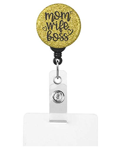 Mom Wife Boss Cute Badge Reel ID For Moms