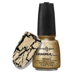 China Glaze Crackle Metals Nail Polish - Tarnished Gold - 0.5 oz