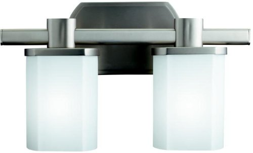 Kichler 5052NI Lege Bath 2-Light, Brushed Nickel