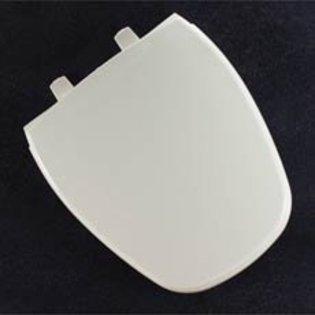 Bemis 1240200304 Eljer Emblem Plastic Round Toilet Seat, Honeydew