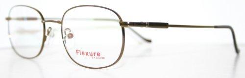 Flexible Fx3 Coffee Brown Men's Titanium Optical Eyeglass Frame by FLEXURE by FLEXURE from FLEXURE