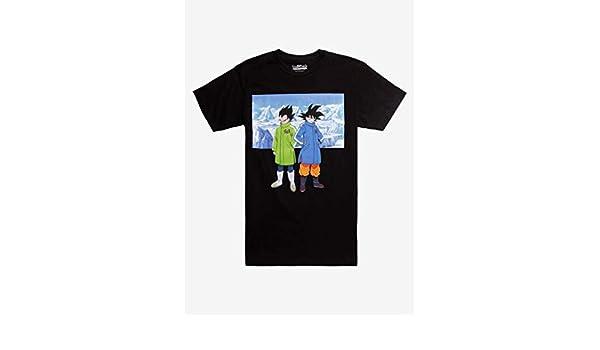 1d64770d70a1 Amazon.com: Dragon Ball Super: Broly Goku Vegeta Snow T-Shirt: Clothing