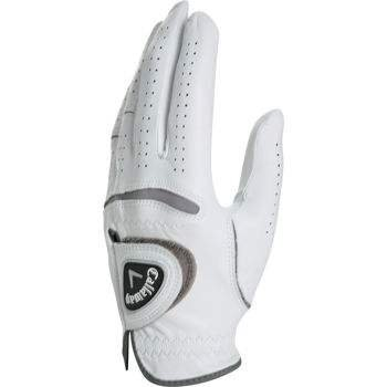 callaway premium cabretta golf gloves 3 pack high quality golfing gloves (large, left hand) ()