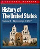 img - for History of the United States, Vol. 1: Beginnings to 1877 by Lorna C. Mason (1992-08-01) book / textbook / text book