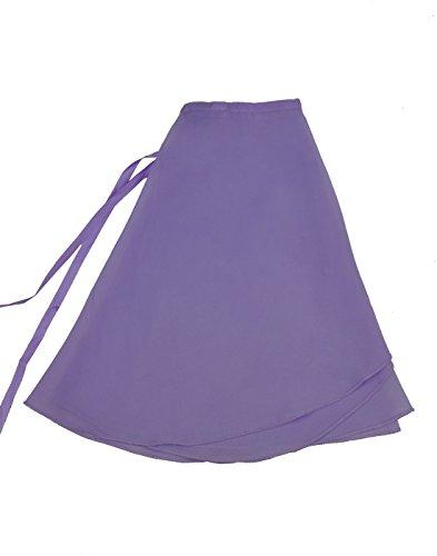Lavender Wrap Skirt - 2