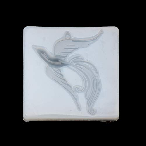 Cicitop Beatuy Bird Phoenix Pendant Jewelry Silicone Mold DIY Craft Tool Jewelry Making Resin Jewelry Molds