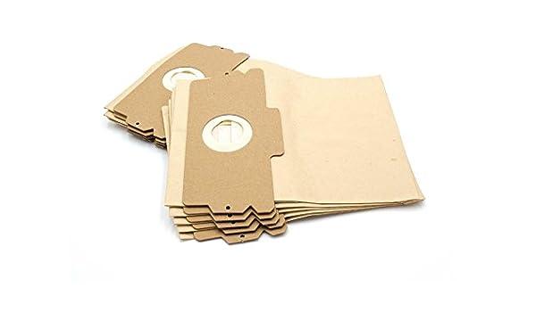 vhbw - 10 bolsas de papel para aspirador robot aspirador multiusos Aspiradora AEG/Electrolux Vampyr 508, 509, 510, 515, 516, 517, 600, 6002, 6003, ...