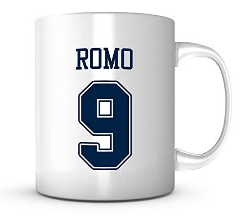 - Tony Romo Mug - Jersey Number Football Coffee Cup