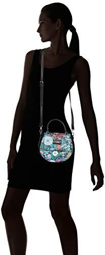 Mano w H Cm L Mujer Bolso X negro Negro 86088 Para Xti 22x22x3 De S8n0x4